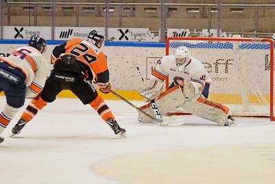 #24. Linus Karlsson, #35. Martin Von Schoultz