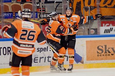 #24. Linus Karlsson,  #25. André Nordstrand, #26. Tom Johansson