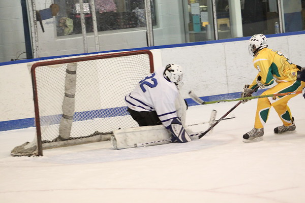 LC vs. St. X Hockey