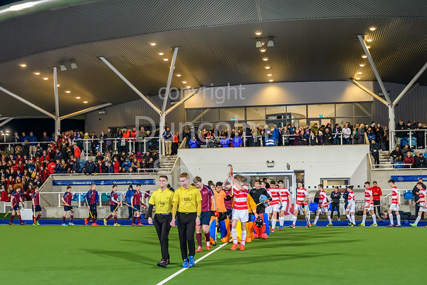 15th March 2019 at the National Hockey Centre, Glasgow Green. Scottish Hockey Senior Schools Finals. <br /> Senior Boys Cup Final - Loretto College v George Watson's College