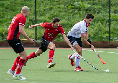 Lichfield Men's 1st XI v Doncaster 1st XI - England Hockey League Conference North - 4 October 2020