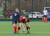 6 March 2020 at the National Hockey Centre, Glasgow Green. Scottish Hockey Junior Schools' Cup Finals – <br /> Junior Boys' Plate - Merchiston Castle v Stewart's Melville College