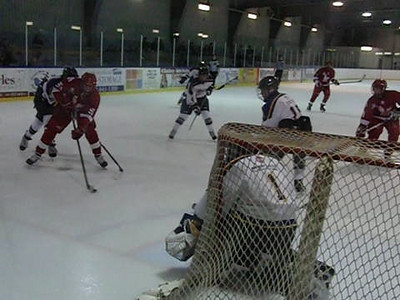 Game 3 vs Toronto Eagles (W 2-1) : More Logan work and the Immaculate Save ... focus on the lower left corner and Travis' glove at 0:50