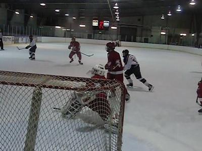 Game 3 vs Toronto Eagles (W 2-1) : Nick's wrap-around attempt