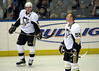 Sidney Crosby and Sergei Gonchar