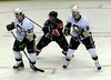 Sidney Crosby, Jeff Tambellini, and Pascal Dupuis