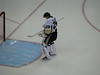 Marc Andre Fleury during the national antem