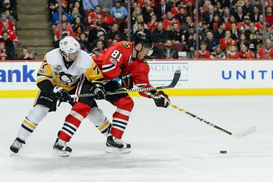 NHL: MAR 01 Penguins at Blackhawks