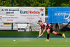 4th May 2019 at the National Hockey Centre, Glasgow Green. Scottish Hockey Finals weekend.<br /> Men's Scottish Plate Final – Highland v Dunfermline Carnegie