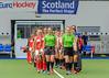 4 August 2019 at the National Hockey Centre, Glasgow Green. Women's EuroHockey Championship II  Pool A match: Poland v Turkey