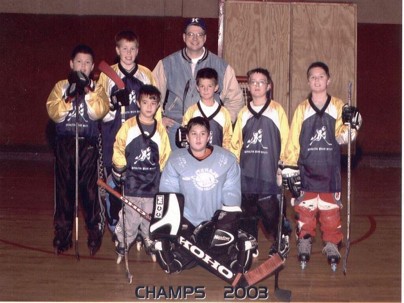 2003 Champs House league