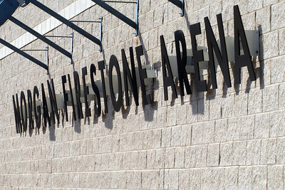 The venue ... Morgan Firestone Arena in Ancaster