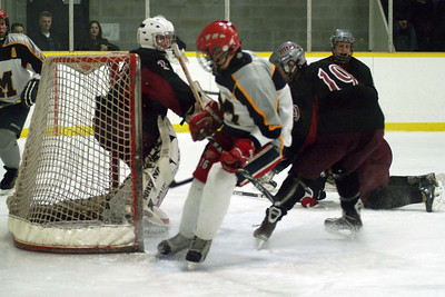... in the net for a 1-0 lead