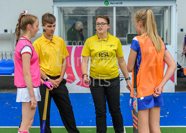 15 June 2018 at the National Hockey Centre, Glasgow Green.  Scotland under 16 girls v Ulster