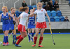 30 April 2016 at the National Hockey Centre, Glasgow Green. Scotland Under 18 Girls v England