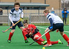 12 April 2018 at Titwood, Glasgow. Scotland Under 18 Boys v Poland