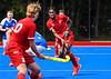 10 July 2021 at Peffermill, Edinburgh. Four Nations under 19 Hockey Tournament - Scotland v England Boys