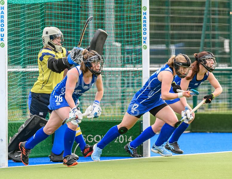 15 May 2019 at the National Hockey Centre, Glasgow Green. Scotland v Canada