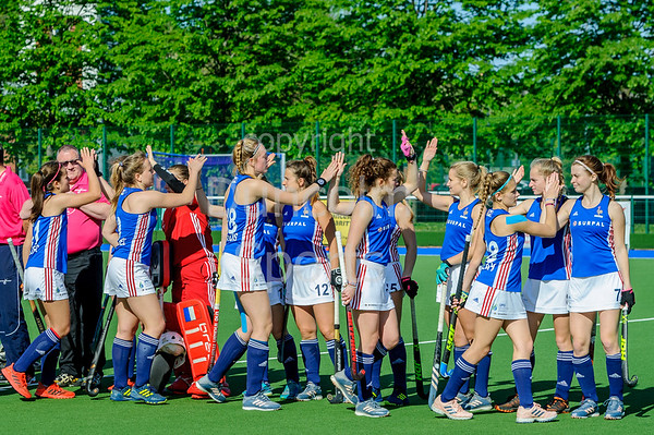 16 May 2019 at the National Hockey Centre, Glasgow Green. Scotland Performance Squad v France