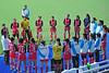 3 May 2016 at the National Hockey Centre, Glasgow Green.  Women's International Challenge match - Scotland v Japan