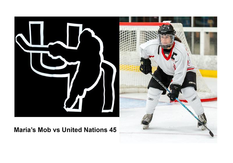 Maria's Mob vs UN45