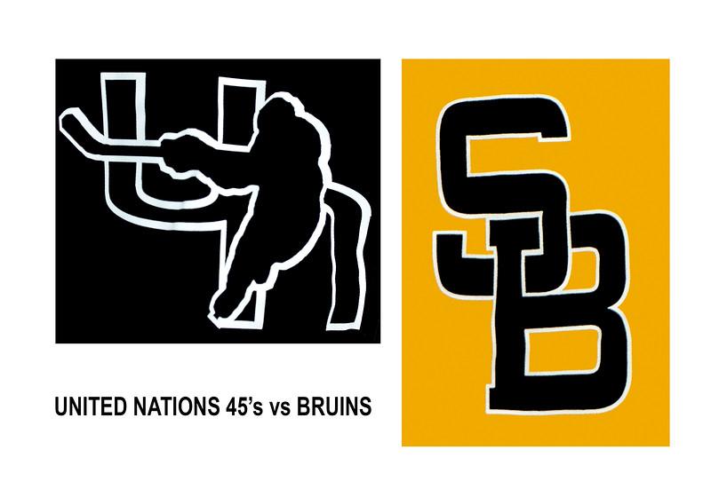 UN45 vs Bruins