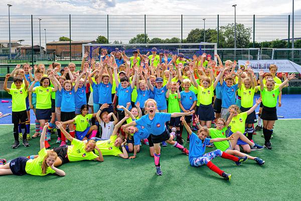 25 July 2019 at The High School of Glasgow, Old Anniesland, Glasgow. <br /> Spider Hockey Camp