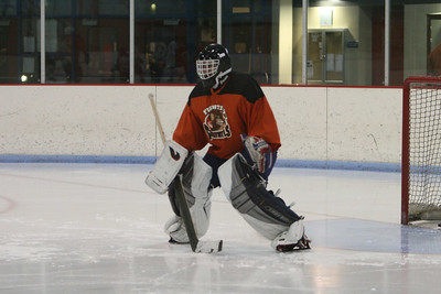 Coach in net
