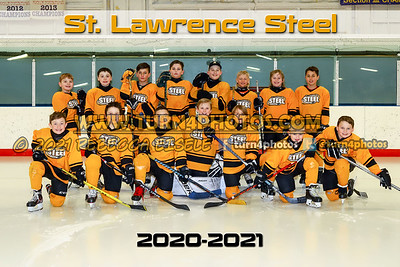 St lawrence steel group with text