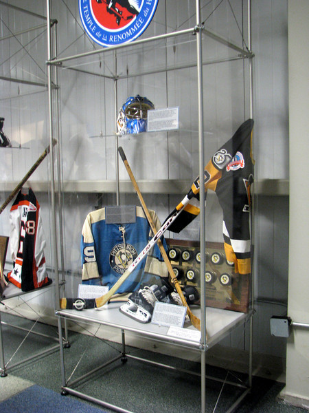 Hockey Hall of Fame Display at the Wachovia Arena