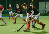 13 March 2020 at the National Hockey Centre, Glasgow Green.  Scottish Hockey Senior Schools Finals - Senior Boys Cup - Stewart's Melville College v Loretto School