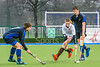 8th March 2019 at the National Hockey Centre, Glasgow Green. Scottish Hockey Junior Schools Finals. <br /> Junior Boys Cup Final - Strathallan School v Fettes College