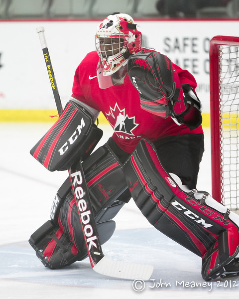 Team Canada World Junior's Selection Camp (Dec. 2012)