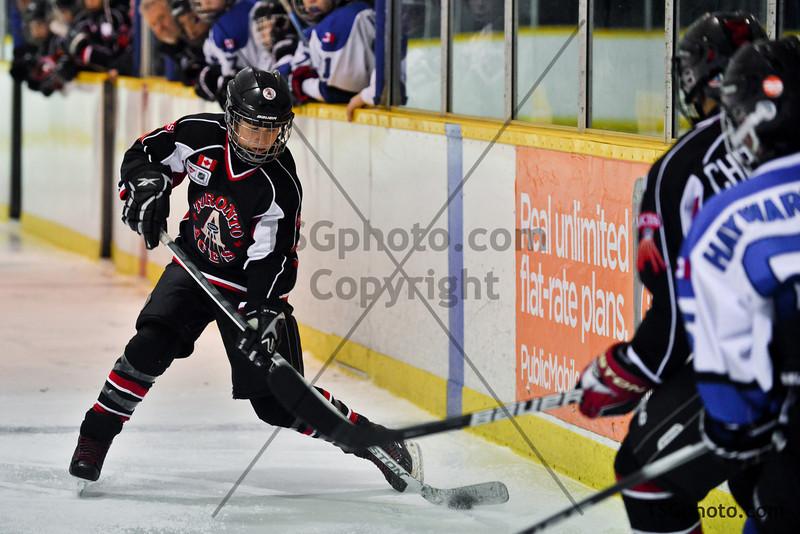 Toronto Aces Bantam AA vs North York Knight, November 16, 2012