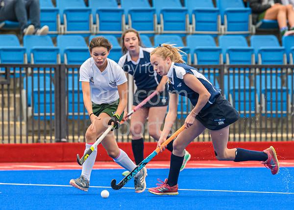 15 September 2019 at Peffermill, Edinburgh <br /> Scottish hockey Youth Interdistrict Tournament 2019 - Under 16s - Midland v South