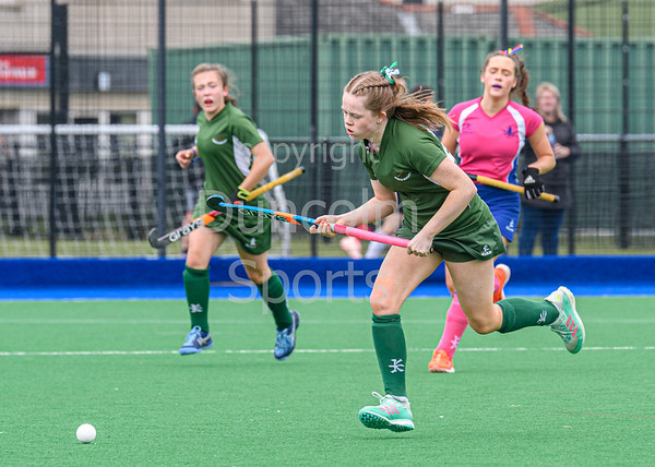 15 September 2019 at Peffermill, Edinburgh <br /> Scottish hockey Youth Interdistrict Tournament 2019 - Under 18s -  West v South