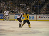 Deryk Engelland fights Ryan Flinn