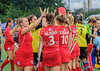 10 August 2019 at the National Hockey Centre, Glasgow Green. Women's EuroHockey Championship II  Pool C match:<br /> Wales v Czech Republic