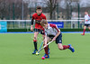 16 March 2018 at the National Hockey Centre, Glasgow Green. Scottish Schools Cup Finals night.<br /> S3 Boys Cup – George Watson's College v Stewart Melville College
