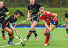 13 October 2018 at Auchenhowie. Scottish Hockey Division 1 match - Western Wildcats v Dundee Wanderers