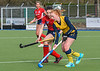 29 February 2020 at Auchenhowie. Scottish Hockey Women's Premiership match - Western Wildcats v Merlins Gordonians