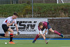 29 February 2020 at Auchenhowie. Scottish Hockey Men's Regional League Division 1 match - Western Wildcats 2s v Watsonians 2s
