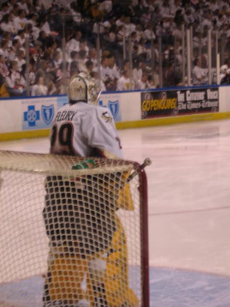 Fleury back in net in Game 2 vs Bridgeport