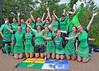 26 June 2016 at Peffermill, Edinburgh<br /> Women's Masters Home Nations Tournament,  Over 40s winners: Ireland