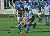 27 Sept 2014. National Hockey Centre, Glasgow Green.  Boys Youth Interdistrict Hockey.<br /> Under 16 - East v West