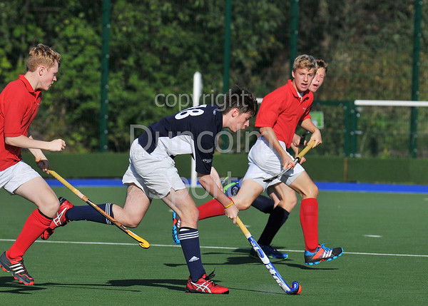 27 Sept 2014. National Hockey Centre, Glasgow Green.  Boys Youth Interdistrict Hockey.<br /> <br /> Under 18 - Midland v West