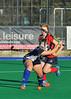 4 October 2014. Peffermill, Edinburgh.  Girls Youth Inter-District Hockey. Under 16 North v Midland