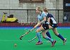 4 October 2014. Peffermill, Edinburgh.  Girls Youth Inter-District Hockey. Under 16 East v Midland<br /> <br /> Please note that this photo was taken in very poor lighting conditions an is not suitable for printing to larger sizes.