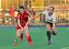 4 October 2014. Peffermill, Edinburgh.  Girls Youth Inter-District Hockey. Under 16 South v South West