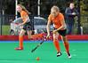 4 October 2014. Peffermill, Edinburgh.  Girls Youth Inter-District Hockey. Under 16 Midland v Highland